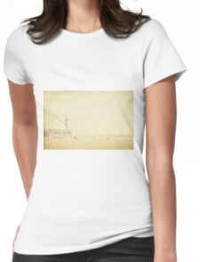 Mild Rays Of The Sun Womens Fitted T-Shirt