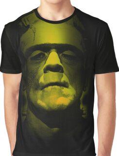 Frankenstein Monster Boris Karloff Design Graphic T-Shirt