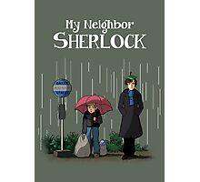 My Neighbor Sherlock Photographic Print