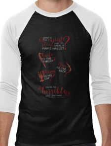 The easiest way... - Six of Crows Men's Baseball ¾ T-Shirt
