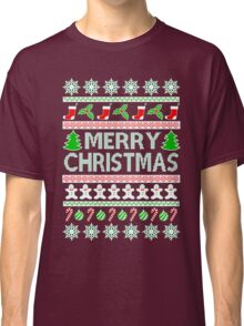 UGLY CHRISTMAS SWEATER QUOTE Classic T-Shirt