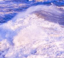 Huge wave in Ligurian Sea Sticker