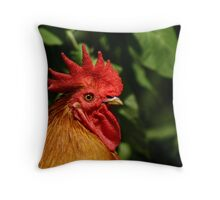 The Rooster Throw Pillow