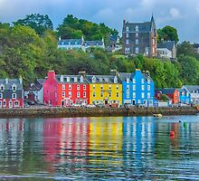 Tobermory Isle of Mull by Chris Thaxter