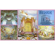 Wieskirche UNESCO World Heritage Site Photographic Print