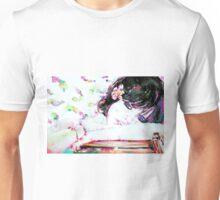 GIRL with FLOWER in her HAIR Unisex T-Shirt