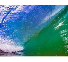 In the Barrel of the Wave Photographic Print