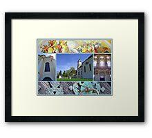 Wieskirche UNESCO world heritage site Framed Print