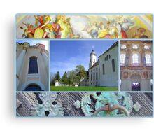 Wieskirche UNESCO world heritage site Metal Print