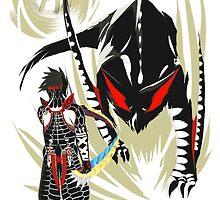 Custom Nargacuga vs. Hunter by S4LeagueProps
