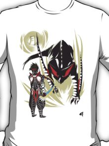 Custom Nargacuga vs. Hunter T-Shirt