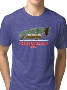 Christmas Vacation 1989 Tri-blend T-Shirt