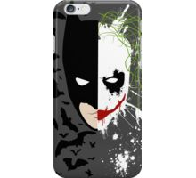 Are you the hero or the villain? iPhone Case/Skin