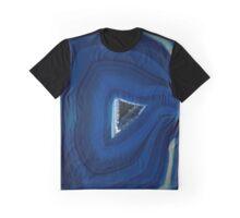 Earth treasures - Blue Agate Graphic T-Shirt