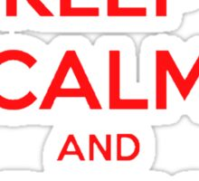 keep calm and play online. Sticker