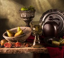 King's Goblet & Fruits by Jon Wild