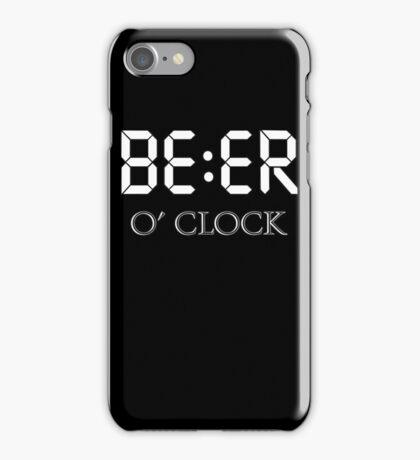 Beer oclock iPhone Case/Skin