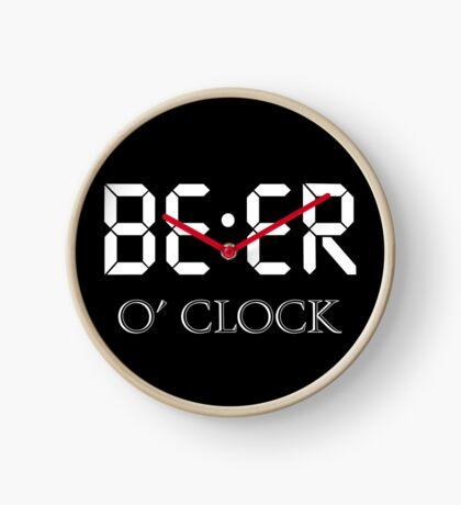 Beer oclock Clock