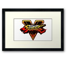 STREET FIGHTER V 5 Framed Print