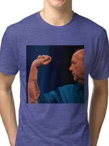 Phil Tayler The Power Painting Tri-blend T-Shirt