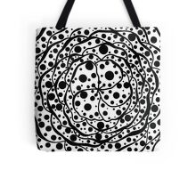 Flower of dots Tote Bag
