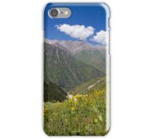 Scenic Mountain Scenery in Kyrgyzstan iPhone Case/Skin