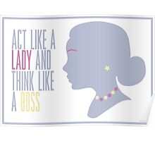 Lady Poster
