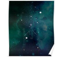 Spacecraft Constellation Poster
