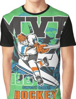 MVP - Most Valuable Player Hockey Graphic T-Shirt