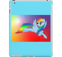 Rainbow Dash Brony T-shirt iPad Case/Skin