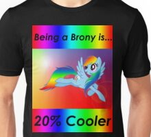 Rainbow Dash Brony T-shirt Unisex T-Shirt