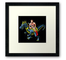 Golden Axe Tyris Flare Framed Print