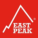 East Peak Apparel - Red Square Small Logo by springwoodbooks