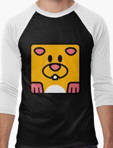 Cheeks the Hamster Men's Baseball ¾ T-Shirt