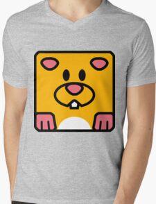 Cheeks the Hamster Mens V-Neck T-Shirt