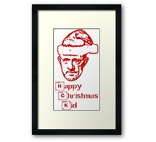 Happy Christmas Mike Framed Print