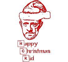 Happy Christmas Mike Photographic Print