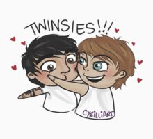 Twinsies by cyrilliart