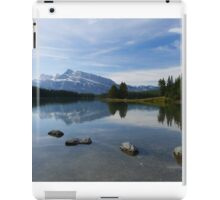 Perfect Calm: Two Jacks Lake iPad Case/Skin