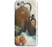 Still Life With Earthen Jugs iPhone Case/Skin