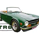 GREEN TR6 by Thomas Barker-Detwiler