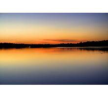 Lakeside Dawn Photographic Print