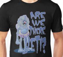 Are we there Yeti? PLAIN Unisex T-Shirt