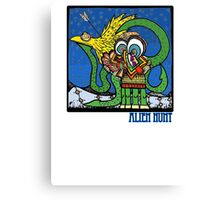 Alien Hunt Canvas Print
