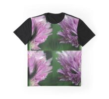 Pink and Lilac Chive 2 Graphic T-Shirt