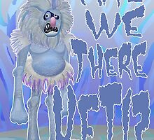 Are we there Yeti? COLOURED by SquareDog