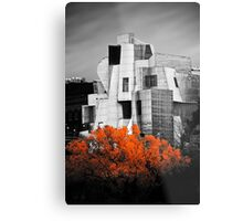 autumn at the Weisman Metal Print