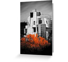 autumn at the Weisman Greeting Card