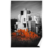 autumn at the Weisman Poster