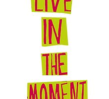 Live in the moment! by FlyingSufi
